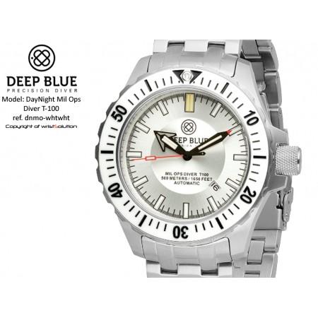 Daynight Mil-Ops T-100 (white bezel/white dial)