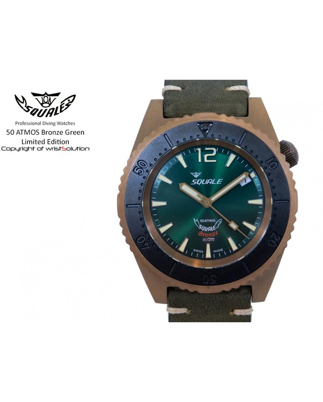 50 ATMOS Bronze Green Ltd. Edition
