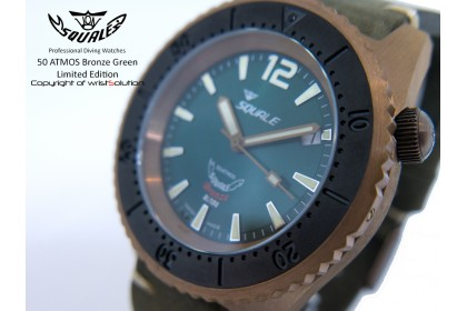 50 ATMOS Bronze Green Ltd. Edition
