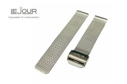 Le Jour Stainless Steel Mesh Bracelet